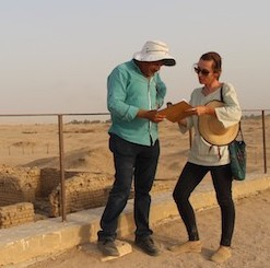 Working on the Amarna site management plan