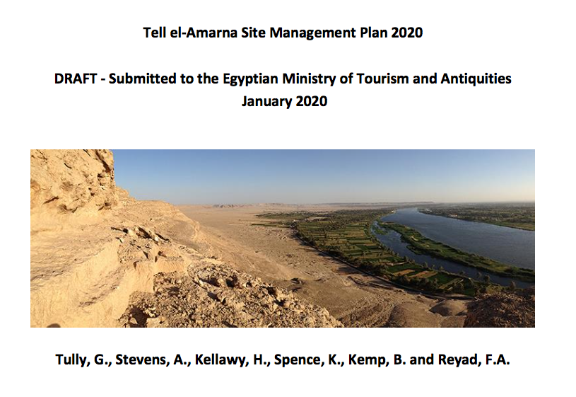 Amarna site management plan