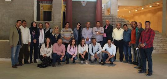 Amarna Team, Institutional Links Project 'Archaeological Heritage at Amarna'