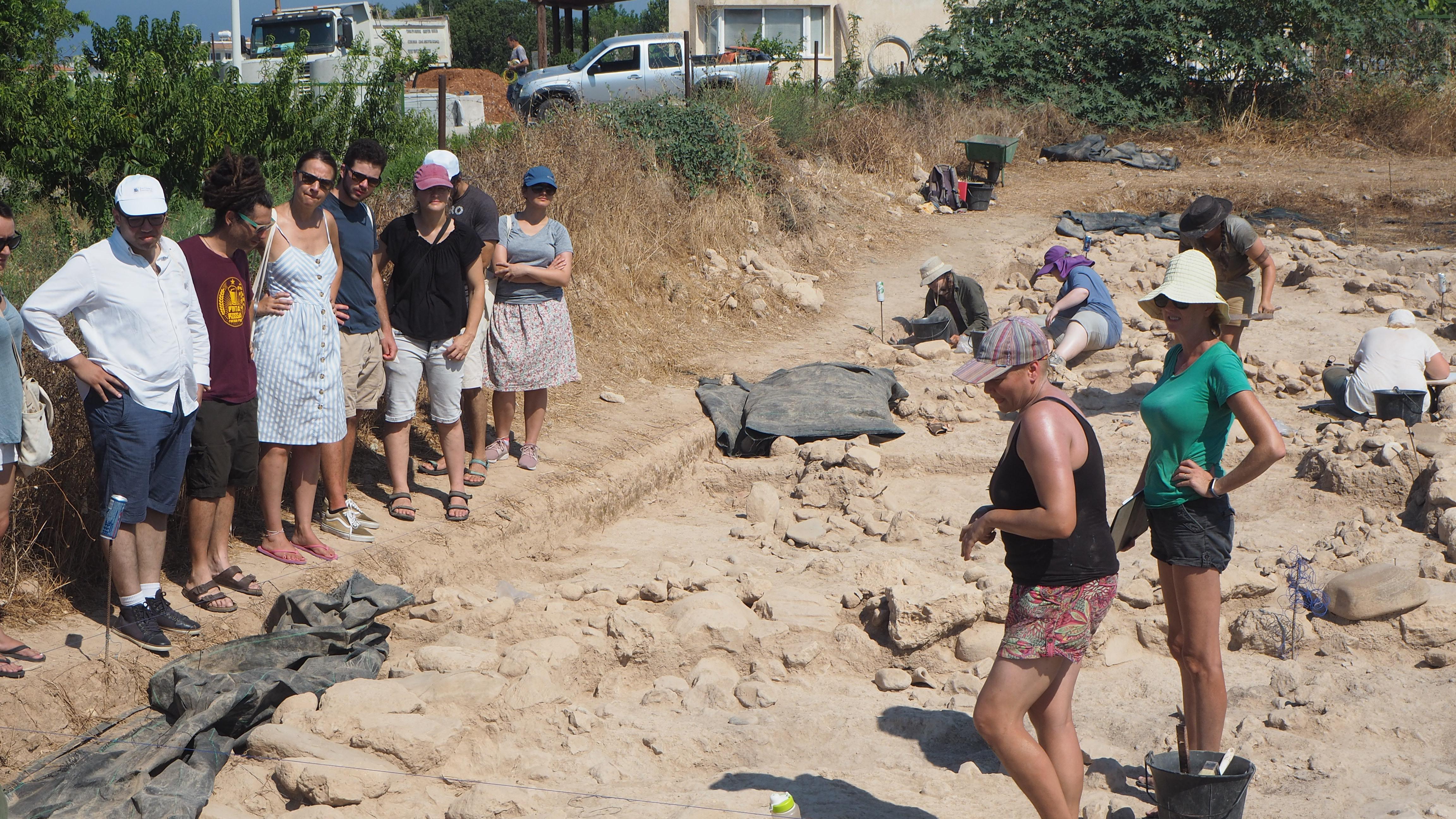 kissonerga skalia excavations cyprus archaeological science summer school