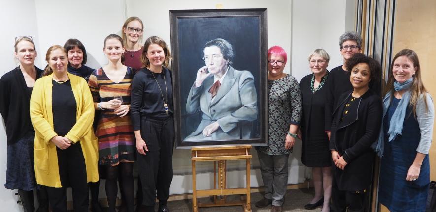 Dorothy Garrod portrait unveiling